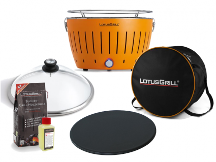 Pizza-Set LotusGrill (G340) Mandarinenorange, 6-tlg.
