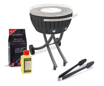Starter-Set, LotusGrill XXL (G600) Anthrazitgrau, 5-tlg.