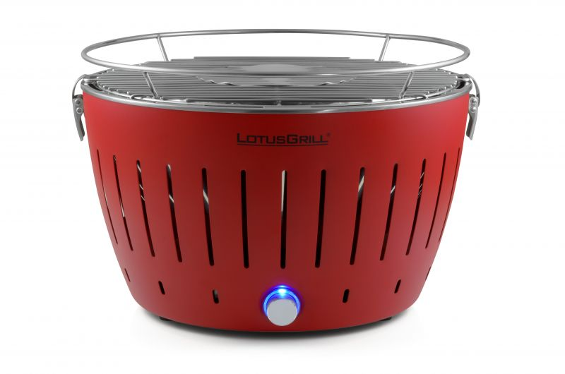LotusGrill Feuerrot